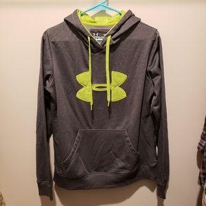 Under Armour Gray & Lime Sweatshirt
